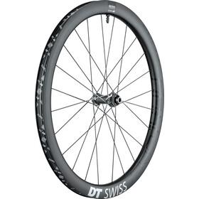 """DT Swiss GRC 1400 Spline Roue avant 28"""" Disc Carbon Centerlock, black"""